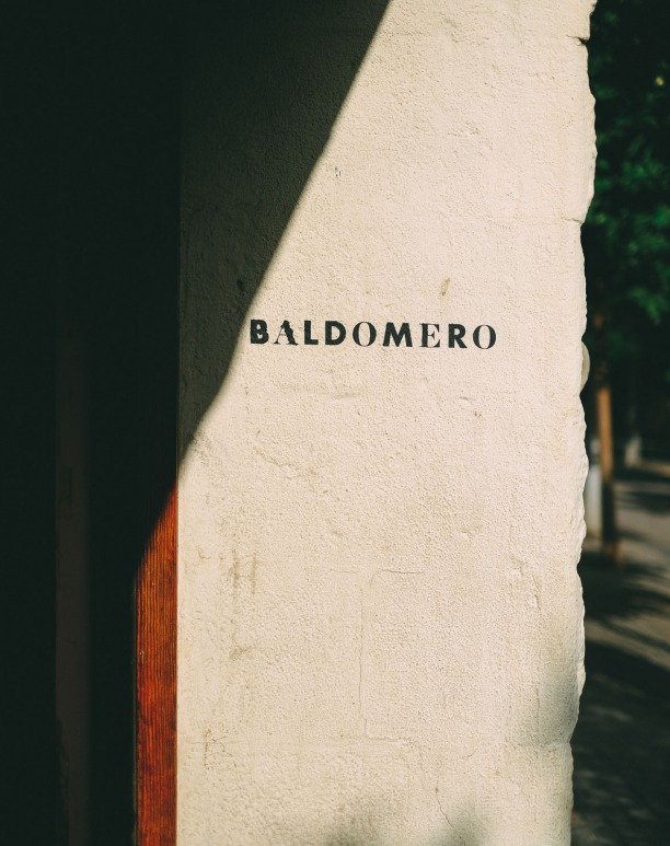 Baldomero, the collage of an entire life.