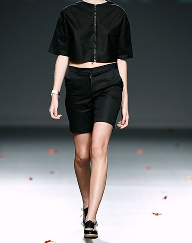 Naguisa and HOWL  by Maria Glück. EGO MBFW fashion show Madrid AW2014-2015